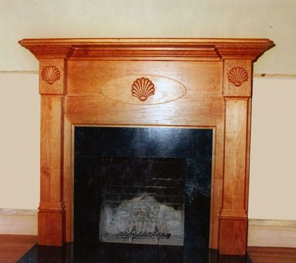 Custom Made Cherry Mantel