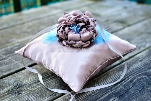 Custom Made Ring Bearer Pillow / Wedding Ring Pillow