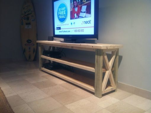Hand Made 6ft Rustic Barn Style Tv, Sofa Table As Tv Stand