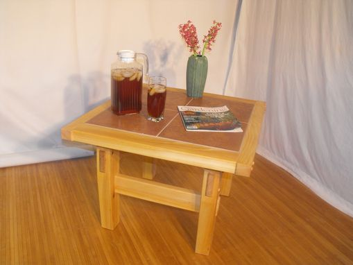 Custom Made End Table - Patio Set