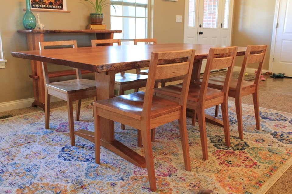 Brilliant Custom Low Back Cherry Cherry Chairs Modern Farmhouse By Beatyapartments Chair Design Images Beatyapartmentscom