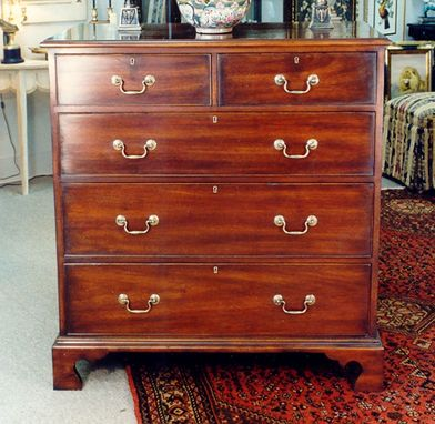 Custom Made Chippendale 5 Drawer Chest