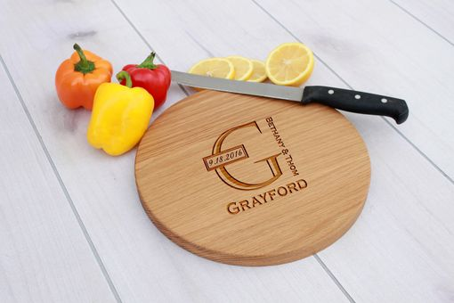 Custom Made Personalized Cutting Board, Engraved Cutting Board, Custom Wedding Gift – Cbr-Wo-Grayford