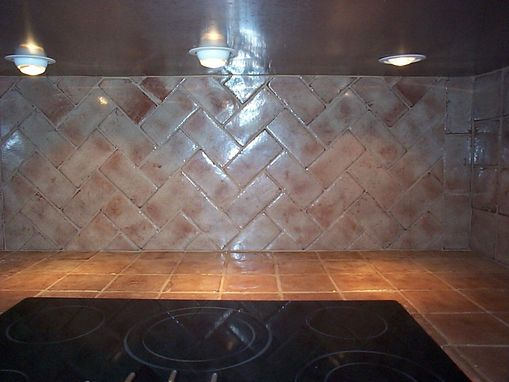 Custom Made Custom Kitchen Tile Work