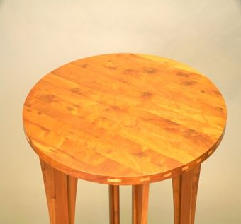 Custom Made Burly Cherry Arts & Crafts Table