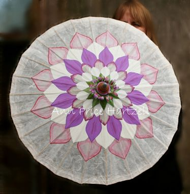 Custom Made Custom Lotus Flower Parasol