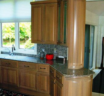 Custom Made Rift White Oak Kitchen Cabinetry