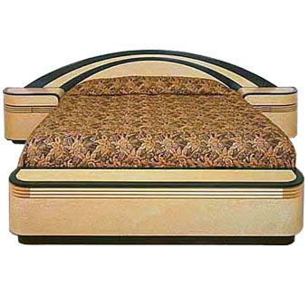 Custom Made Art Deco Bed Set