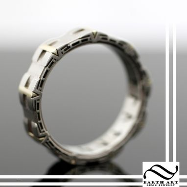 Custom Made Hand Crafted Stargate Ring In Gold