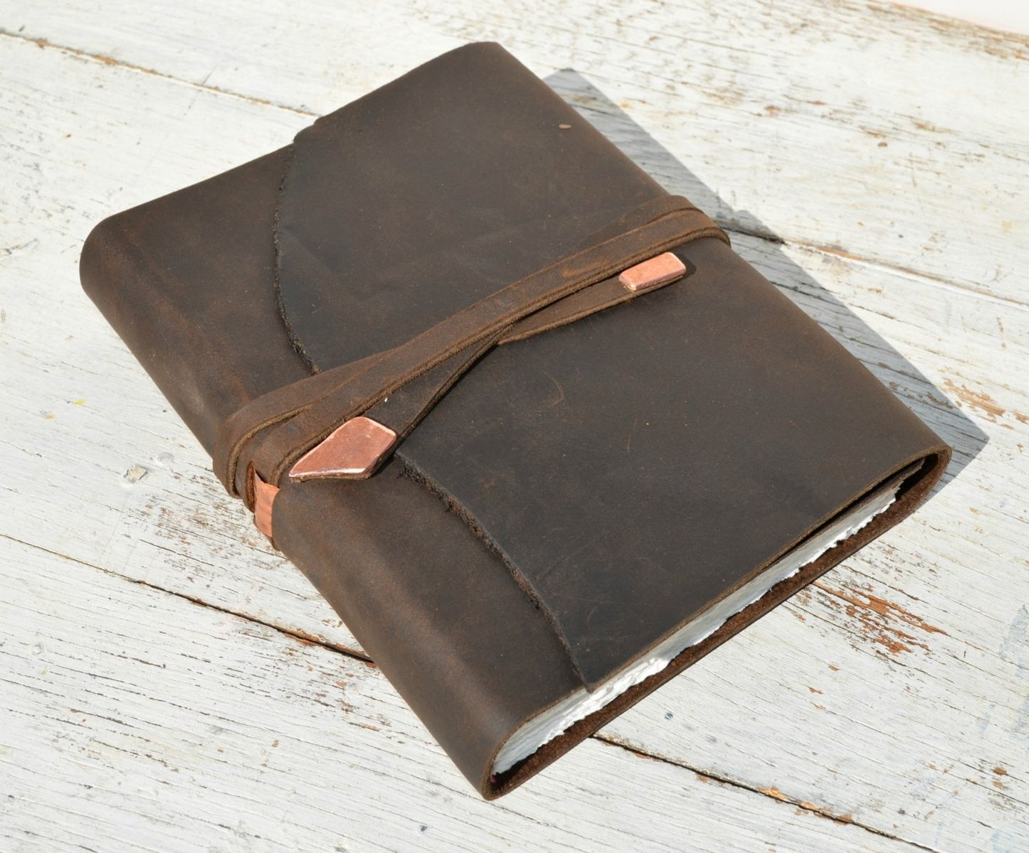 Buy A Hand Made Leather Bound Handmade Elegant Travel