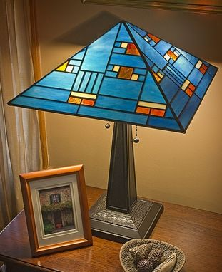 Custom Made Prairie Style Lamp 1