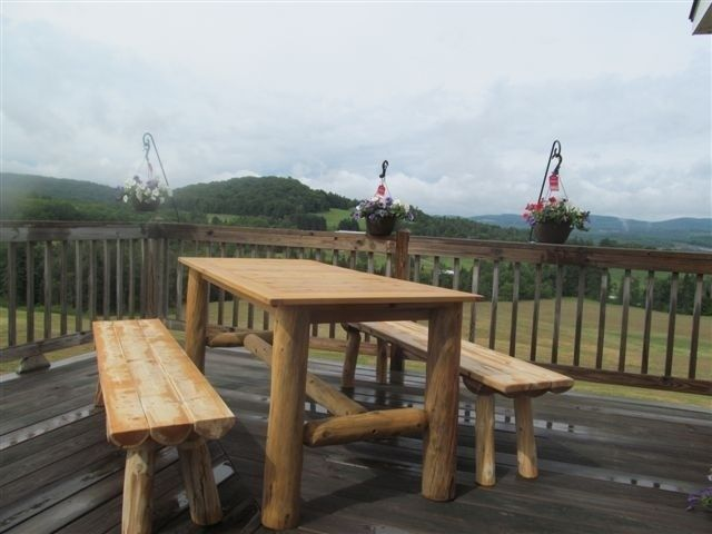 Admirable Handmade Harvest Table By Vermont Timbersmiths Custommade Com Interior Design Ideas Gentotryabchikinfo
