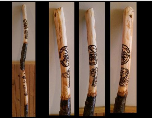 Buy A Hand Made Hiking Sticks Walking Stick Made To Order