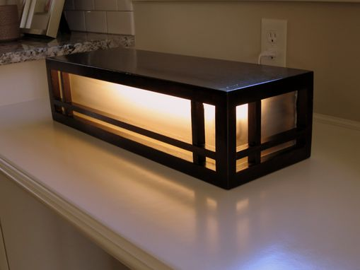 Custom Made Craftsman Light Box