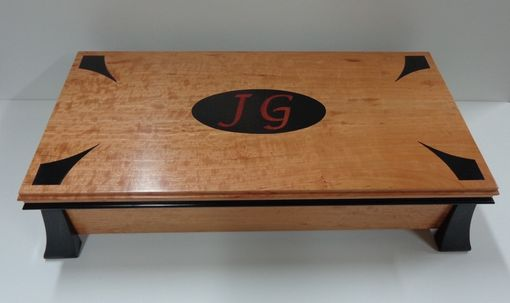 Custom Made Wooden Watch Box