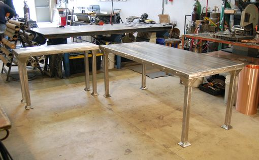 Custom Made Stainless Steel Table
