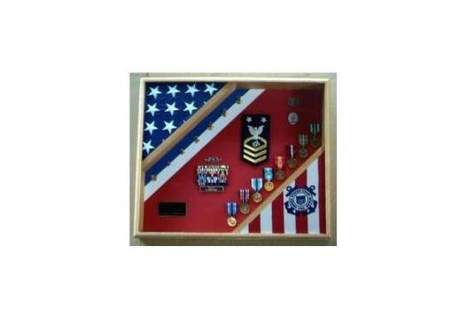 Custom Made Uscg Flag Cases, Coast Guard Flag Case