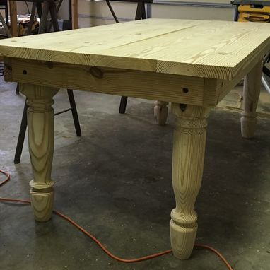 Custom Made Custom Dining Room Table