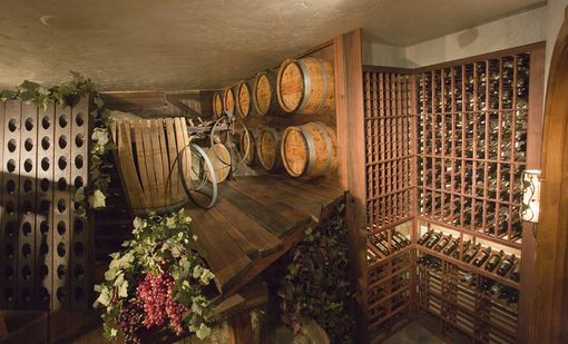 Custom Made Fantasy Rock Cellar