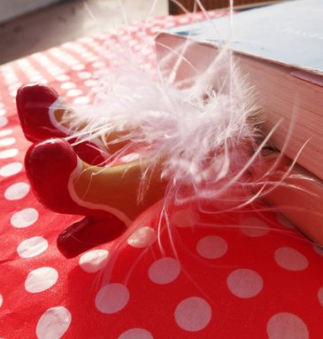 Custom Made Legs In Your Book - Saloon Bookmark