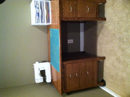 Custom Made Desk/Sewing Cabinet