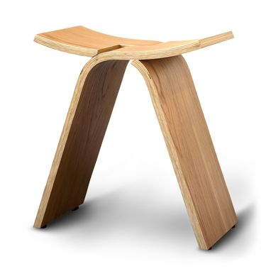 Custom Made Interlochen Bent Plywood Stool