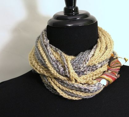 Custom Made Infinity Scarf, Neck Wrap, Womens Scarf