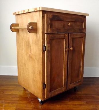 Custom Made Kitchen Cart