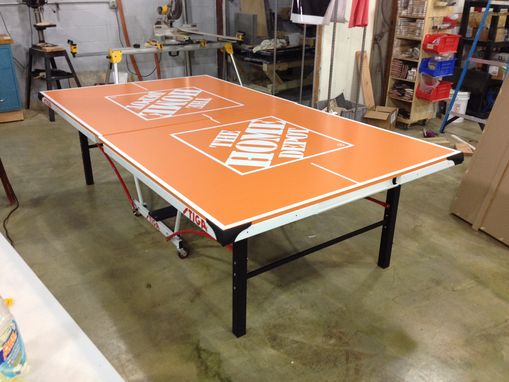 Custom Made Custom Ping Pong Tables By Uberpong