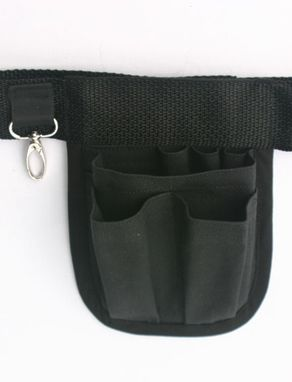 Custom Made Mini Hipnotions Professional Black Tool Belt With Swivel Clasp