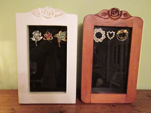 Custom Made Shadow Boxes, Brooch Or Pin Boxes