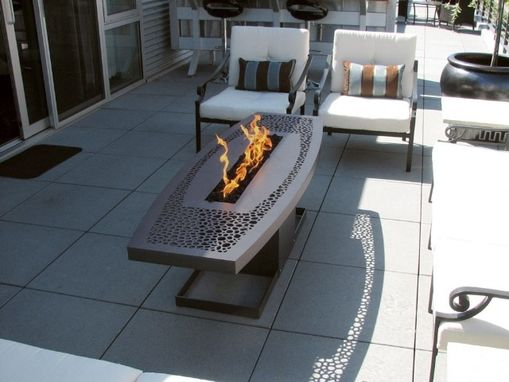 Custom Made Savannah Fire Table
