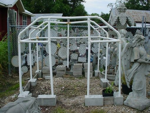 Custom Made Con~Verta~Stone Greenhouse, Raised Garden, Flower Boarder