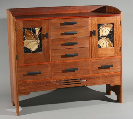 Custom Made Arts And Crafts Sideboard