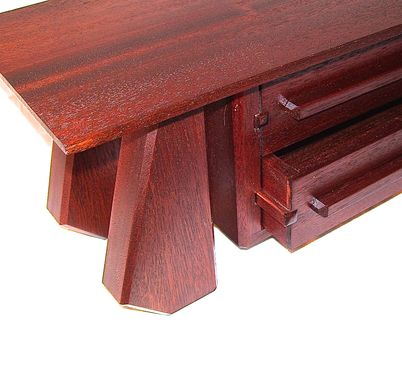 Custom Made Sapele 2 Drawer Jewelry Box