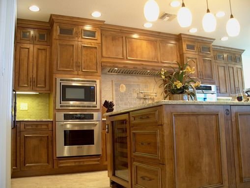 Custom Made Custom Kitchen, Mediterranean Style