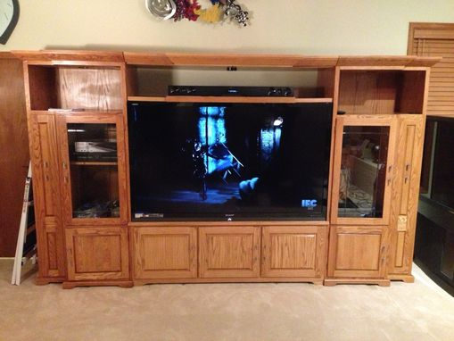 Custom Made Entertainment Center 3
