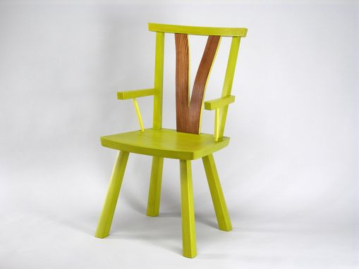 Custom Made Green Line Chair