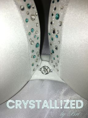 46c2f7aac6 Crystallized Bling Bridal Wedding Night Push Up Bra Victoria s Secret Made  With Swarovski Crystals