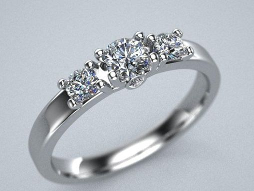 Custom Made 5 Stone Elegant Ladies Ring