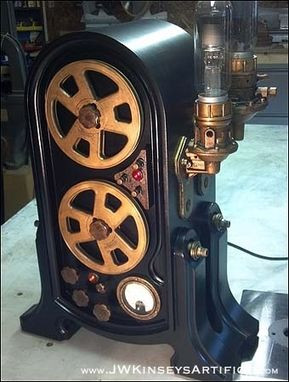 Custom Made A Reel To Reel Recording Machine Film Prop