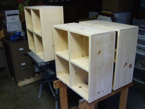 Custom Made Storage Squares