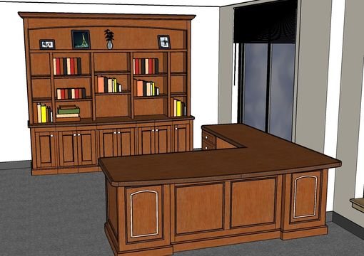 Custom Made Lawyer's Office Suite
