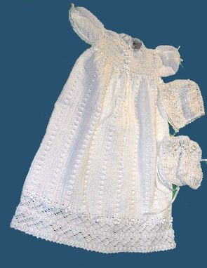 Custom Made Christening Or Blessing Gown