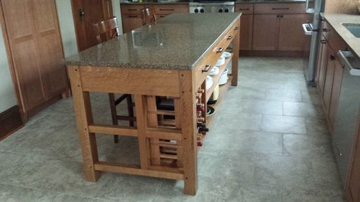 Custom Made Kitchen Islands