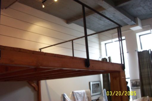 Custom Made Loft Space In High Ceilinged Condo