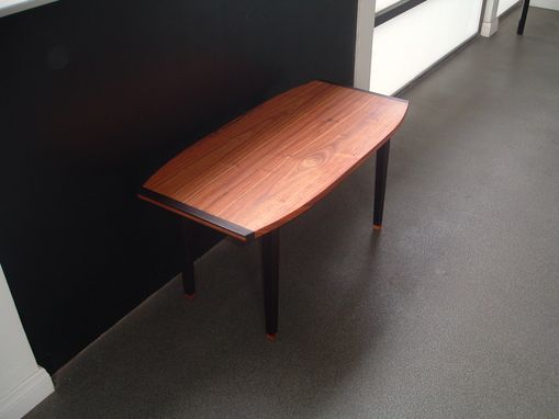 Custom Made Antikea Danish Modern Coffee Table In Canary And Wenge