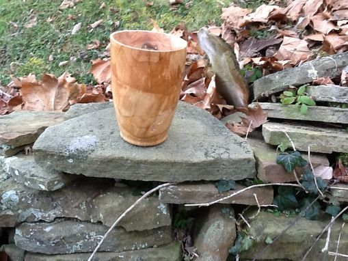 Custom Made Spalted Cherry Vase