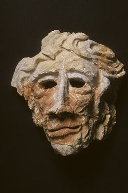 Custom Made Sandstone Picture Rock Mask