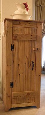 Custom Made Handmade Custom Rustic Cabinet